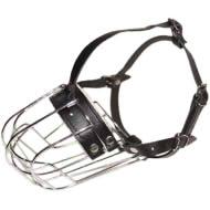 口先の短い犬種用バスケット型口輪
