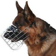 犬訓練向けの耐寒のゴム引きワイヤー製犬用口輪