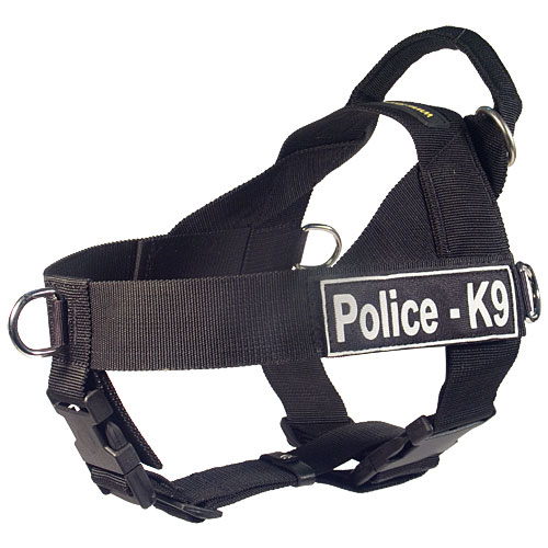 police k9 dog harness DE