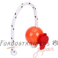 紐付きソフトな犬用ボール(9cm)